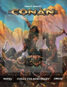 Conan The Mercenary + PDF