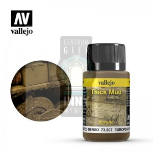 Vallejo Weathering Effects: European Thick Mud