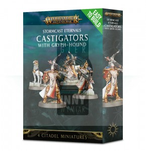 Stormcast Eternals: Easy to Build Castigators with Gryph-hound