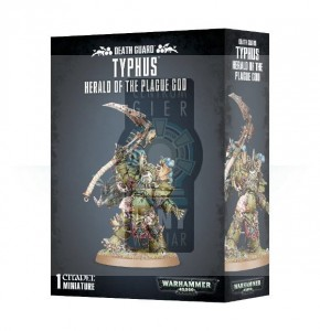 Death Guard  Typhus - Herald of the Plague God