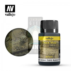 Vallejo Weathering Effects: Black Thick Mud