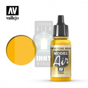 Vallejo Model Air 71.002 Medium Yellow