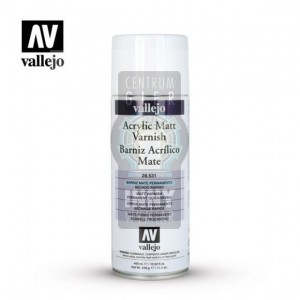 Vallejo Spray 28.531 Acrylic Matt Varnish -> Akcesoria > Farbki > Vallejo > Spray