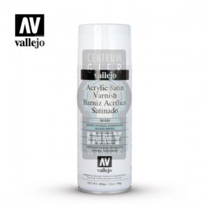 Vallejo Spray 28.532 Acrylic Satin Varnish -> Akcesoria > Farbki > Vallejo > Spray
