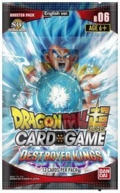 Dragon Ball SCG S6 Destroyer Kings BOOSTER