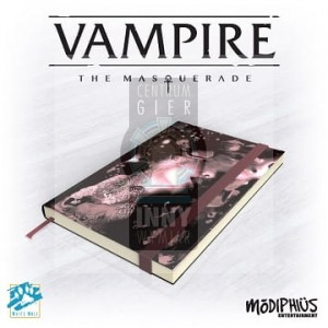 Vampire Masquerade 5th Ed: Official Notebook