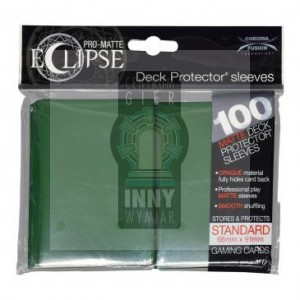 Ultra Pro Deck Protector 100 szt Eclipse Forest Green