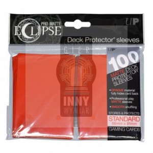 Ultra Pro Deck Protector 100 szt Eclipse Apple Red