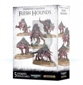 AoS Blades of Khorne: Daemons of Khorne - Flesh Hounds