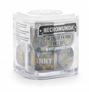 Necromunda Enforcer Patrol Dice Set