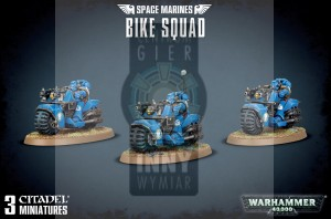 Space Marines: Bike Squad
