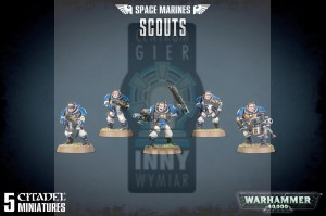 Space Marine Scout Squad
