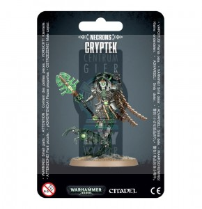 Necron Cryptek with Canoptek Cloak