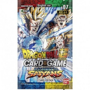 Dragon Ball Super S7 Assault of the Saiyans Booster
