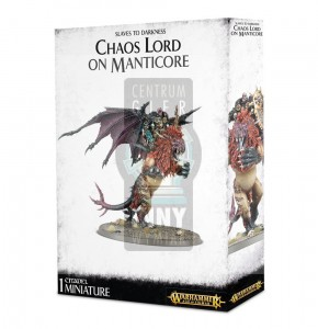 Slaves to Darkness: Chaos Lord/ Chaos Sorcerer on Manticore