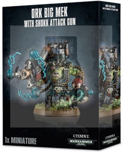 Orks: Big Mek with Shokk Attack Gun
