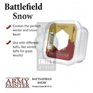 AP Battlefield Field Basing:  Snow