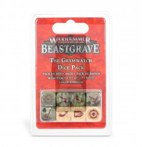 Warhammer Underworlds: Beastgrave – The Grymwatch Dice Pack