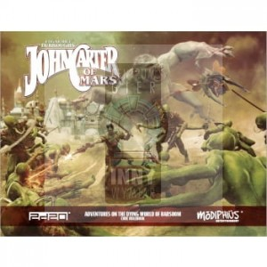 John Carter of Mars: Core Rulebook + PDF -> Gry RPG > RPG- język angielski > John Carter of Mars