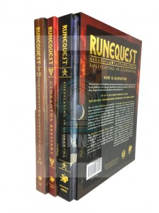 RuneQuest - Roleplaying in Glorantha - Slipcase Set + PDF -> Gry RPG > RPG- język angielski > RuneQuest