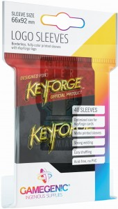 KeyForge - Logo Sleeves Black