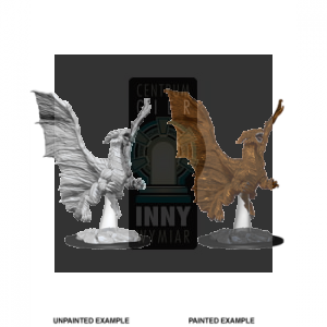 D&D Nolzur's Marvelous Miniatures - Young Copper Dragon