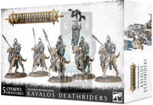 Ossiarch Bonereapers: Kavalos Deathriders