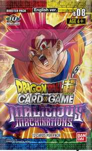 Dragon Ball Super CG: Booster Pack B08: Malicious Machinations