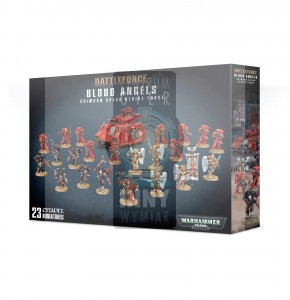 Battleforce Blood Angels Crimson Spear Strike Force