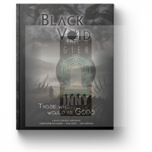 Black Void Those who would be Gods Adventure book + PDF