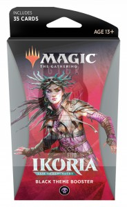 Magic The Gathering: Ikoria - Lair of Behemoths - Black Theme Booster