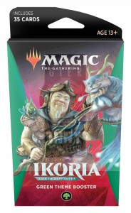 Magic The Gathering: Ikoria - Lair of Behemoths - Green Theme Booster