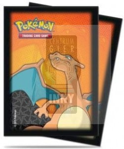 Deck Protector Sleeves - Charizard/ULTRA-PRO (standard - 66x91mm)