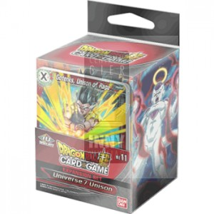 DragonBall Super Card Game - Expansion Set BE11: Universe 7 Unison