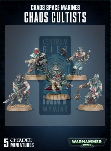 Chaos Space Marines: Chaos Cultists -> Gry Bitewne > Warhammer 40k > Chaos > Death Guard