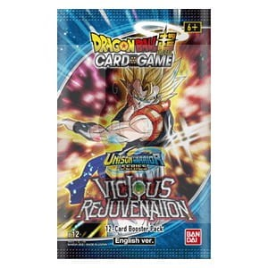 DragonBall Super Card Game - (B12) Unison Warrior Series Vicious Rejuvenation Booster -> Gry Karciane Kolekcjonerskie > Dragon Ball CCG > Boostery