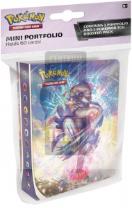 Pokemon TCG: Sword & Shield Battle Styles - Mini album + Booster -> Gry Karciane Kolekcjonerskie > Pokémon > Boostery