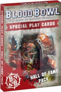 Blood Bowl: Special Play Cards: Hall of Fame Pack