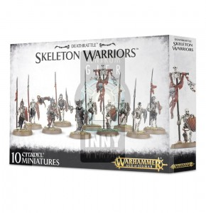 Legions of Nagash: Deathrattle Skeleton Warriors