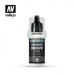 Vallejo Technical 70.524 Thinner Medium