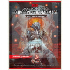 D&D Dungeon of the Mad Mage Maps and Miscellany
