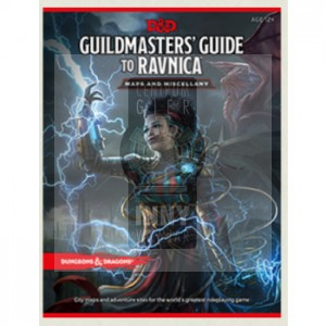 D&D Guildmaster's Guide to Ravnica RPG Maps and Miscellany