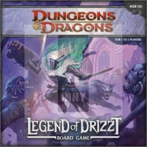 D&D Legend of the Drizzt Board Game