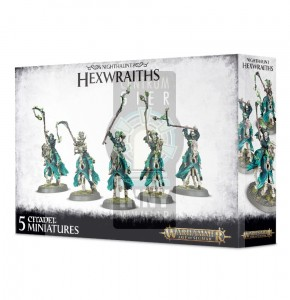 AoS Nighthaunt:  Hexwraiths / Black Knights