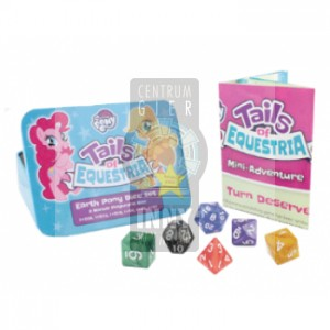 My Little Pony: Tails of Equestria The Storytelling Game - Earth Pony Dice Set