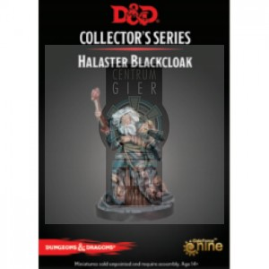 D&D Dungeon of the Mad Mage - Halaster Blackcloak Figure