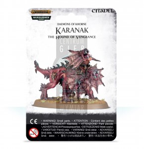 AoS Blades of Khorne: Karanak, The Hound of Vengeance