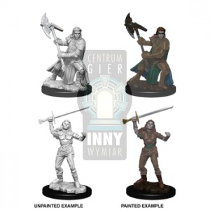 D&D Nolzur's Marvelous Miniatures - Female Half-Orc Fighter