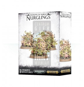 Maggotkin of Nurgle: Nurglings
