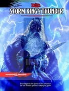 D&D 5.0: Storm King's Thunder - Dungeon Master's Screen